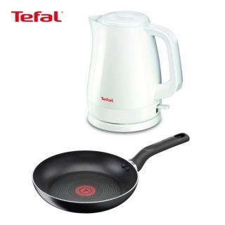 กาต้มน้ำ+กระทะ20ซม TEFAL HNY19_KO1501+PAN ขาว