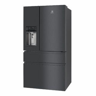 ตู้เย็น 4 ประตู ELECTROLUX EHE6879A-B ดำ 21.8 คิว+ตู้เย็นมินิบาร์ EUM0500SB