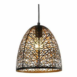 โคมไฟห้อยเพดาน WONDERFUL WL-PL11-300 E27 รมทองเหลือง