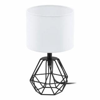 โคมไฟตั้งโต๊ะ EGLO 95789 CARLTON 2 ขาว-ดำ E14