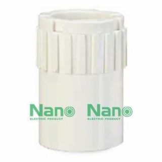 ข้อต่อกล่อง NANO NNCN25 25มม. ขาว