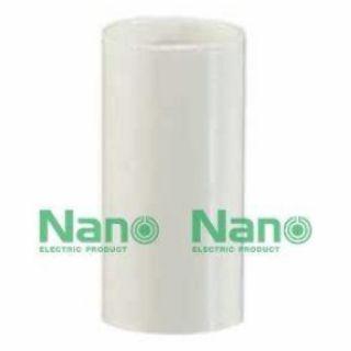 ข้อต่อตรง NANO NNCU16 16มม. ขาว