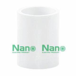 ข้อต่อตรง NANO NNCU20 20มม. ขาว