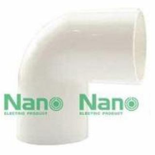 ข้องอ NANO NNBC16 16มม. ขาว