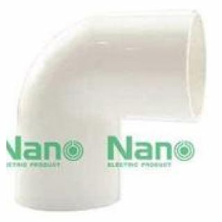 ข้องอ NANO NNBC20 20มม. ขาว