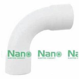 ข้อโค้ง 90 องศา NANO HB90-16 16มม. ขาว