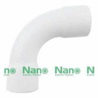 ข้อโค้ง 90 องศา NANO HB90-20 20มม. ขาว