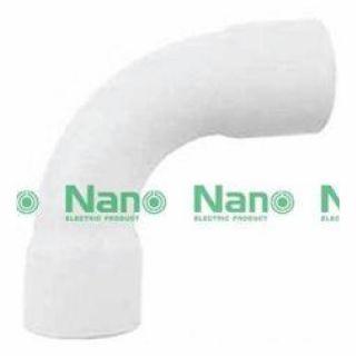 ข้อโค้ง 90 องศา NANO HB90-25 25มม. ขาว
