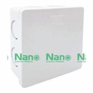 กล่องพักสายสามเหลี่ยม ใหญ่ NANO NANO-44M ขาว