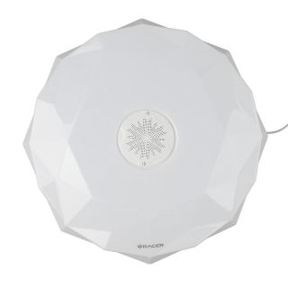 โคมไฟติดเพดาน RACER AI LAMP VOICE CONTROL CRYSTAL 24W