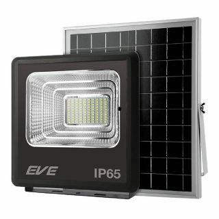 โคมฟลัดไลท์โซล่าเซลล์LED EVE Dawn 60W DL ดำ