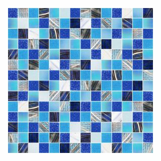 ม/ส แก้ว IMEX 300x300มม. G4002 KOH SAMUI BLUE